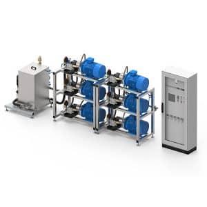 impianto di lavaggio 6 pompe 4.0